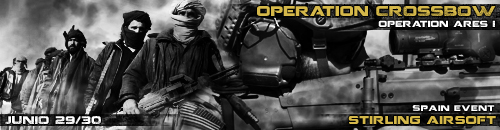 Op Crossbow - Stirling 28 de junio Banner