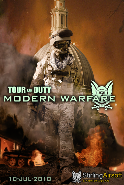 Op Tour of Duty: Stirling 11-12 Julio Poster500